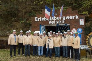 SPD Fraktion besuchte das bergwerk im November 2015