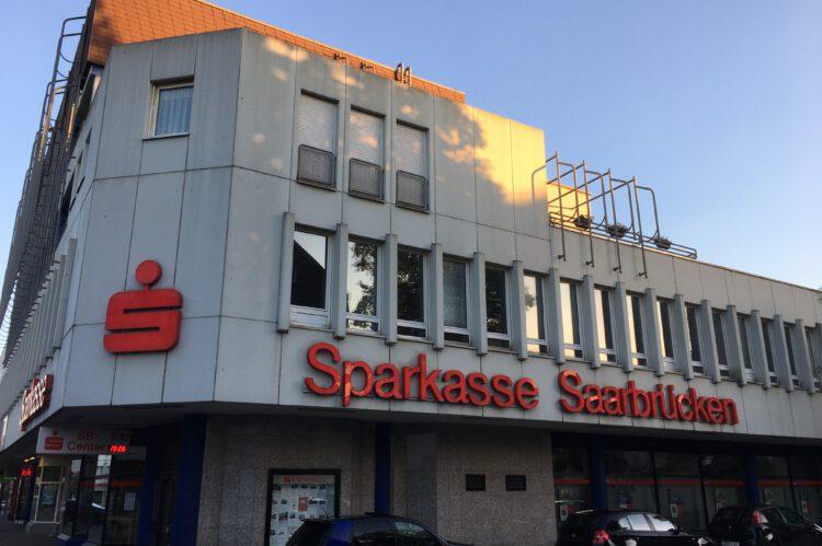 Sparkassenfiliale in der Bismarckstraße